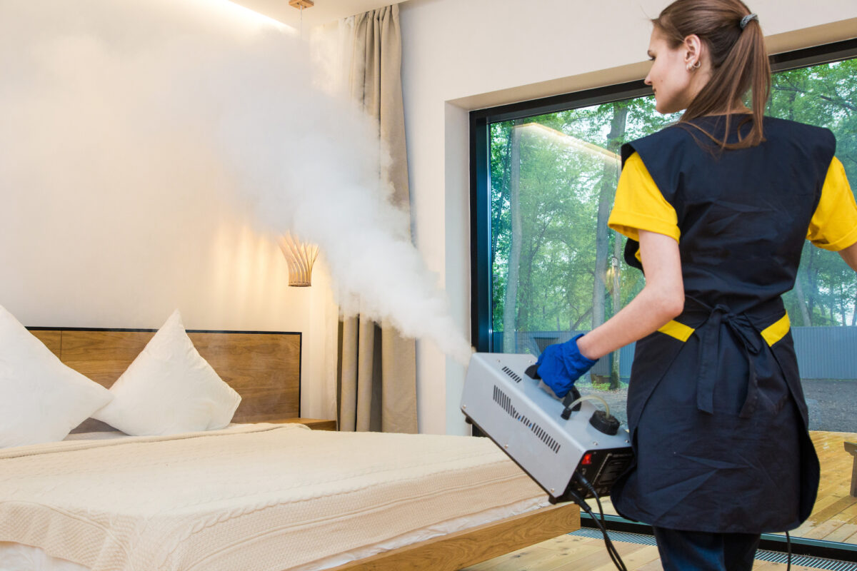 Coronavirus Disinfection: Get Into Your Most Hard-to-Reach Areas with Misting Disinfectant