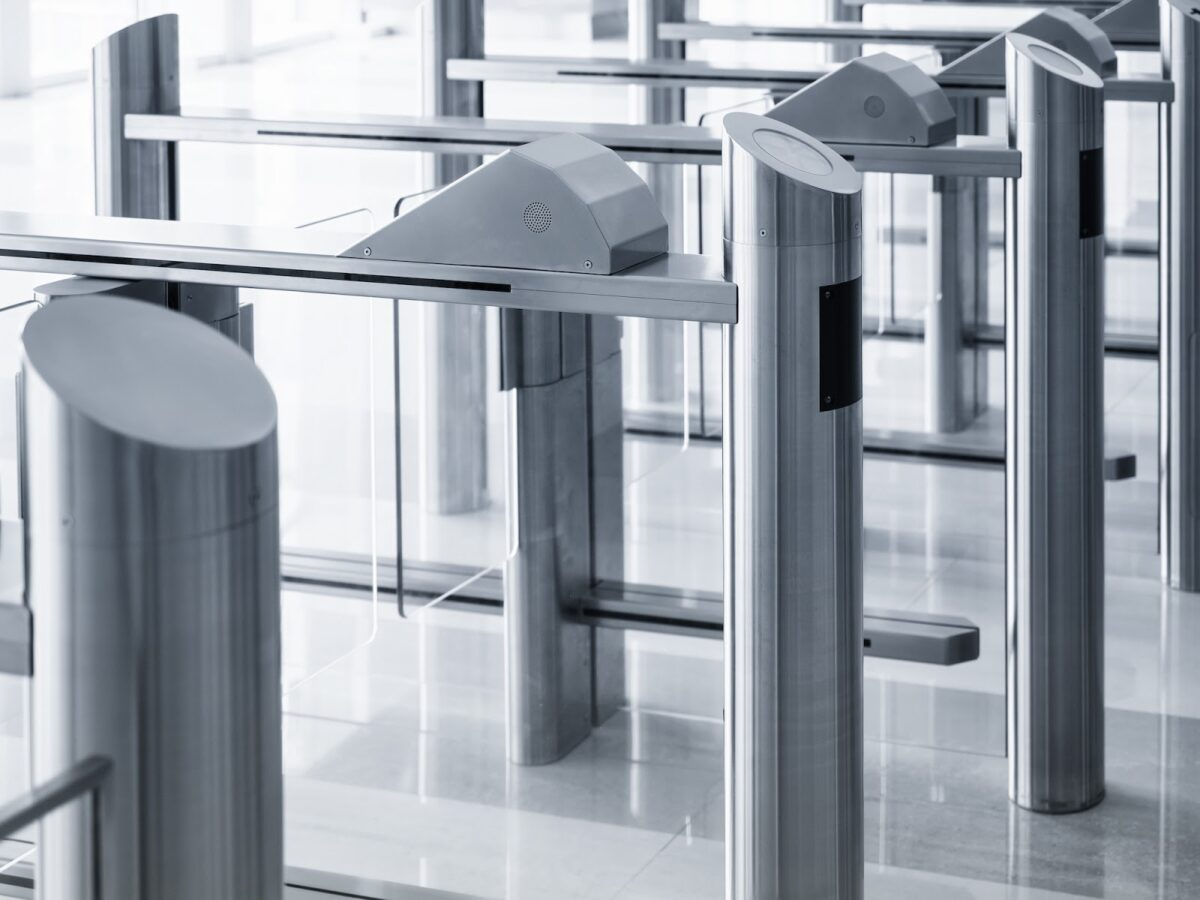Security system in a high security facility